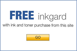 FREE inkgard with ink and toner purchase from this site